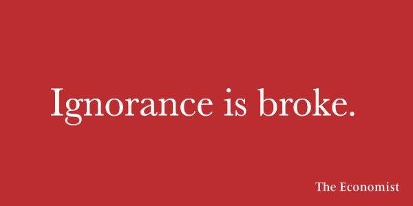 Economist - Ignorance