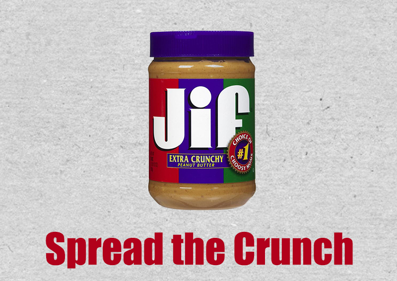 JIF - Spread the Crunch